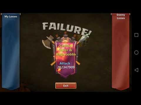 Castle Clash - Guild Boss Challange 2. [1 Billion Damage Goal Reached]