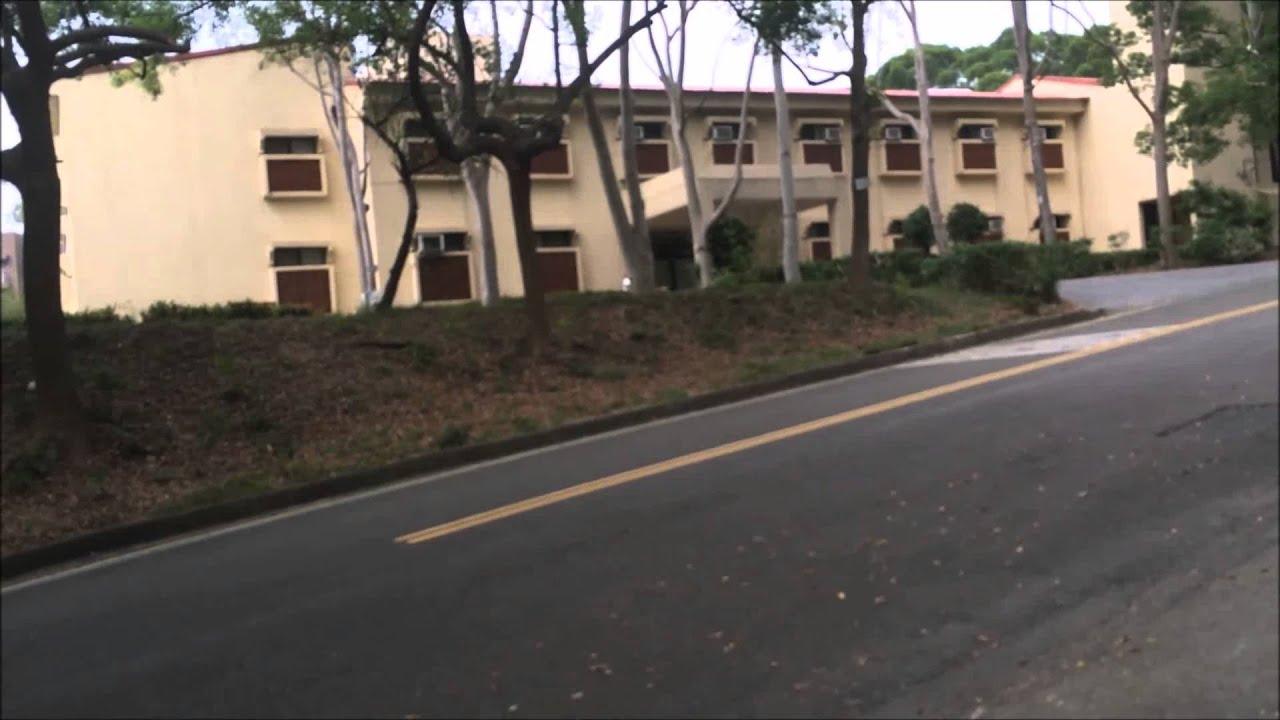 靜宜大學+由希嘉宿舍到格倫樓的路程 - YouTube