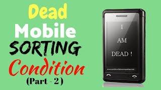 Mobile Repair Institute | Dead Mobile Sorting Condition Testing Method (Part - 2)