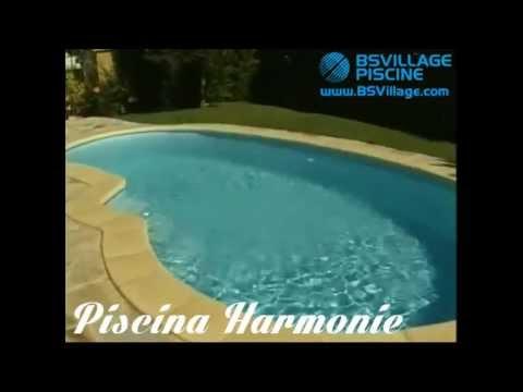 Piscina a fagiolo in vetroresina monoblocco harmonie youtube - Piscina a fagiolo ...