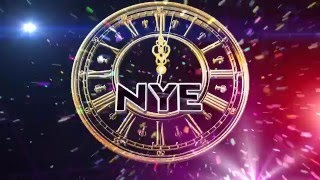 New Year Countdown Flyer Opener (After Effects Project) with Happy Holiday Royalty Free Music
