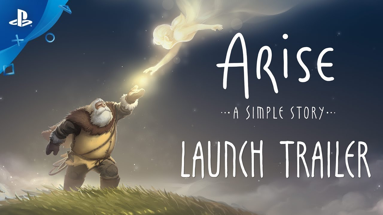 Arise: A Simple Story - Launch Trailer | PS4