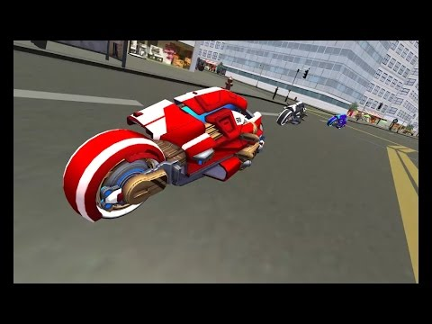Future New York Motorcycle 3d Games Fast Motor Bike Games