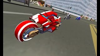Future New York Motorcycle 3D Games - Fast Motor Bike Games - Motor Cycle Games - Bike Games To Play