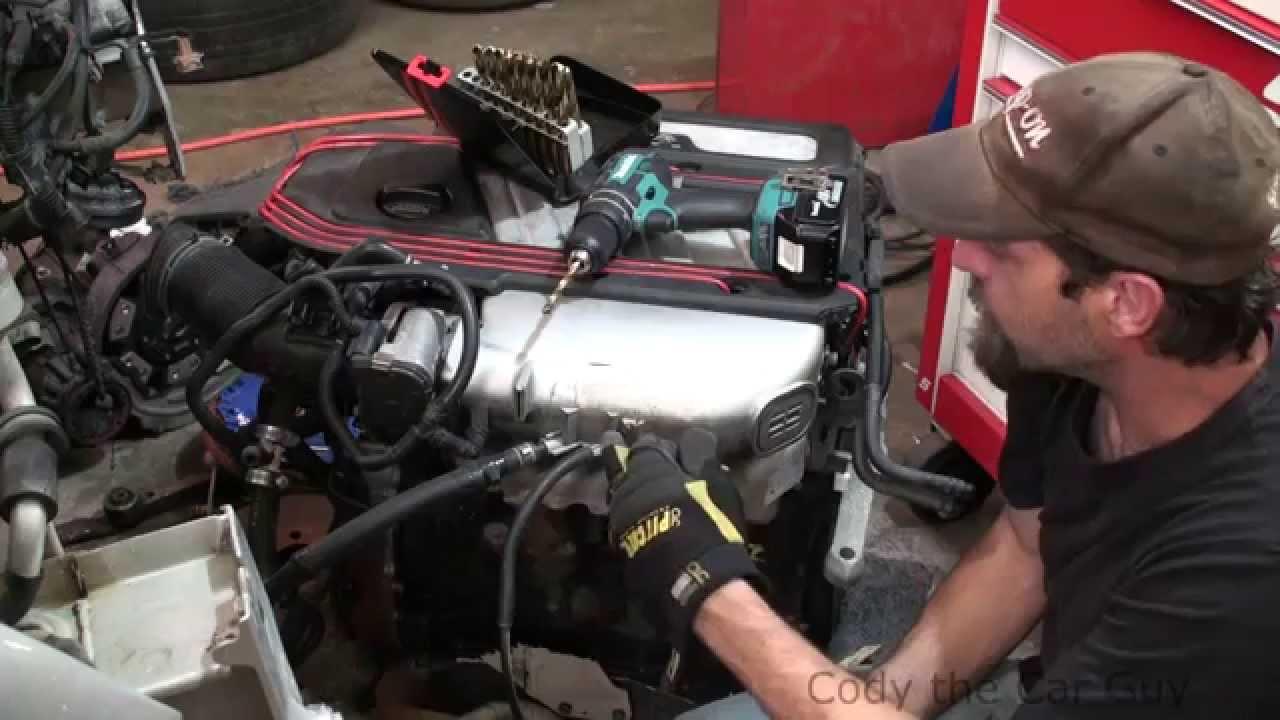 medium resolution of how to repair broken vacuum fittings on plastic intakes
