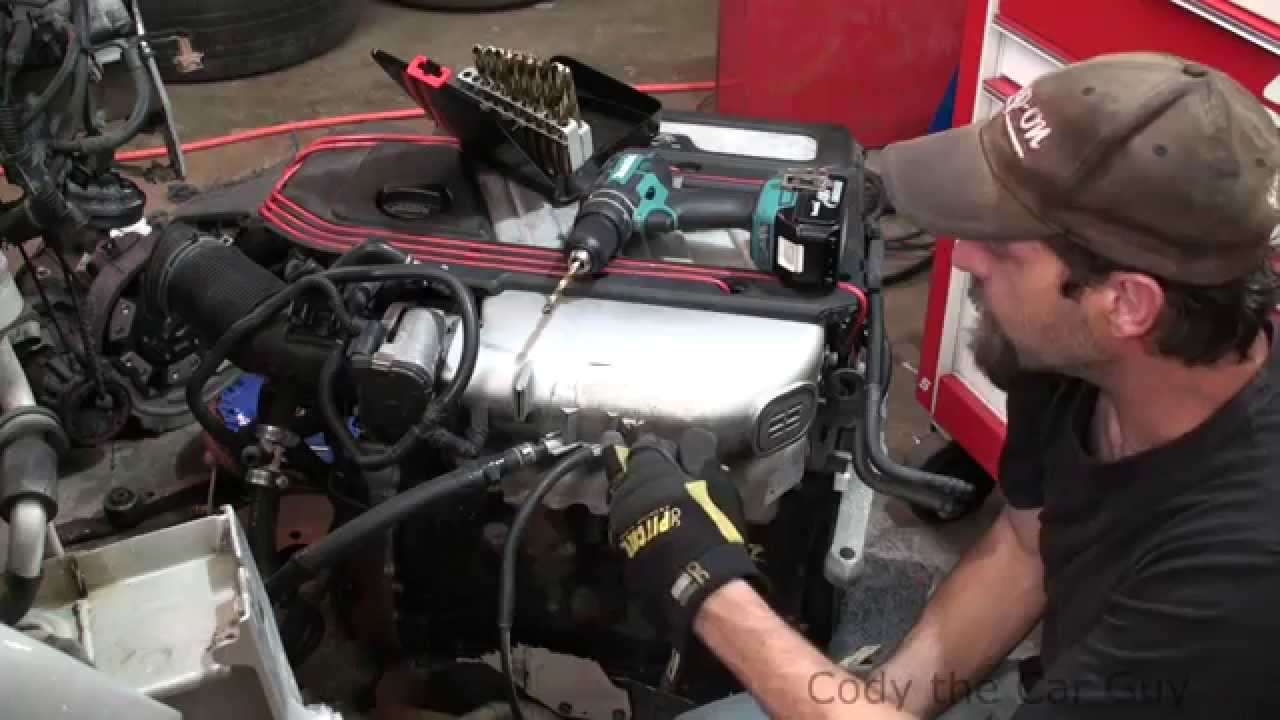 small resolution of how to repair broken vacuum fittings on plastic intakes