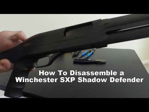 l Winchster SXP l How To Disassemble and Reassemble a Winchster SXP Shadow Defender