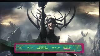 Thor: Ragnarok (2017) - Main Menu (DVD)