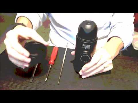 How to disassemble MINIPRESSO