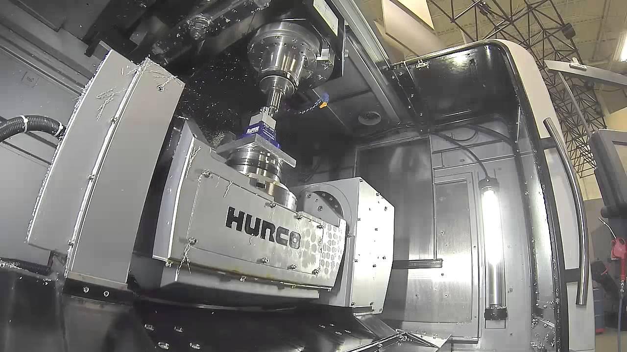 Hurco VMX30UHSi 5-Axis CNC Machine with Erowa Robot