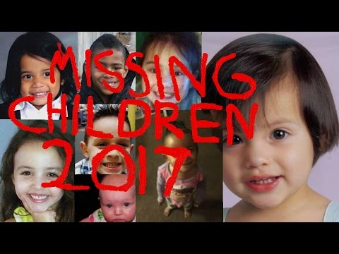 Missing Children From The USA 2017