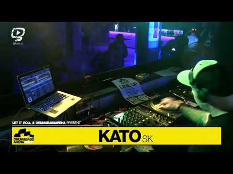 DJ Kato - DRUM&BASSARENA NIGHT Slovakia @ SPY club - Prtizanske 18. April 2014