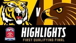 Richmond v Hawthorn Match Highlights | Qualifying Finals, 2018 | AFL