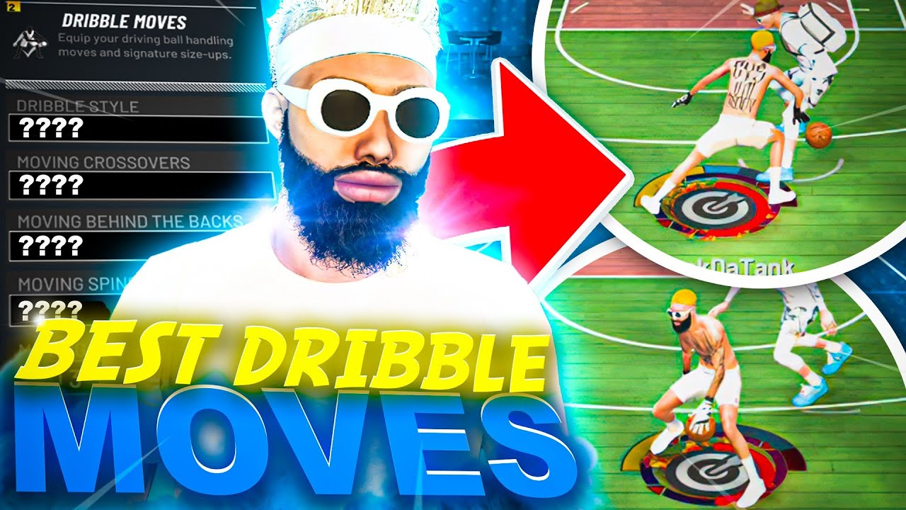 BEST DRIBBLE MOVES IN NBA 2K21 - BECOME A DRIBBLE G0D FAST + ANKLE BREAKERS EVERYTIME - NBA 2K21