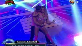 COMBATE 12-02-15 A ALEJANDRA Y PANCHO bailan REGGAETON EN COMBATE A BAILAR