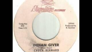Chuck Bernard - Indian Giver.wmv