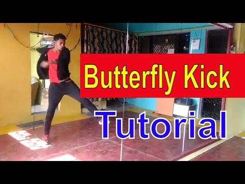 How to Butterfly Kick | Tutorial in Hindi | Like tiger shroff - Stunts By Sahil khan ( T2H)