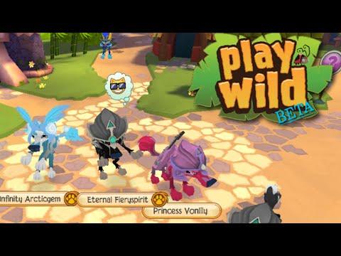 Testing: Play Wild BETA! (Animal Jam app)