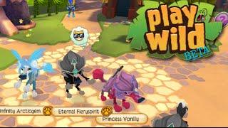 Testing: Play Wild BETA! (Unreleased Animal Jam app)