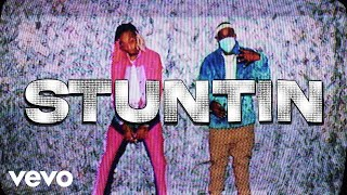Tyla Yaweh - Stuntin' On You (Official Lyric Video) ft. DaBaby