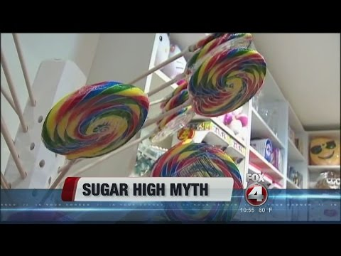 'Sugar high' a myth?