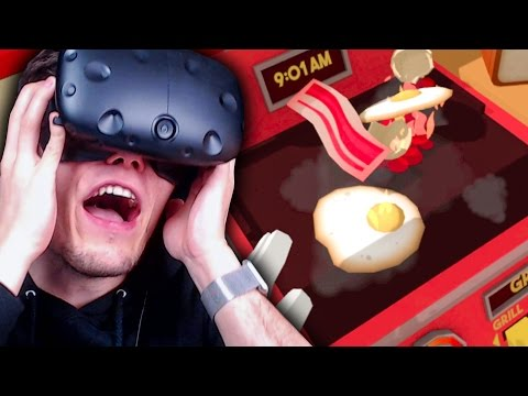 HILFE! MEINE EIER BRENNEN! ✪ JOB SIMULATOR Virtual Reality