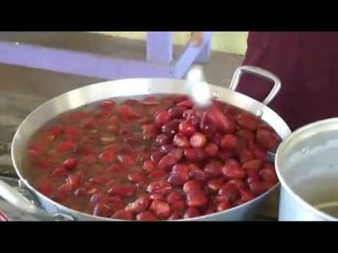 Como preparar mermelada de fresa youtube - Como hacer zumo de fresa ...