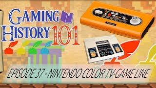 Nintendo Color TV-Game - Gaming History 101