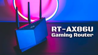 Wi-Fi6 Gaming Router Asus RT-AX86U Review