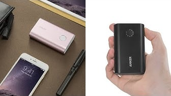 Trên Tay và Review Pin Sạc Dự Phòng Anker PowerCore+ 10050, Quick Charge 2.0, siêu nhỏ
