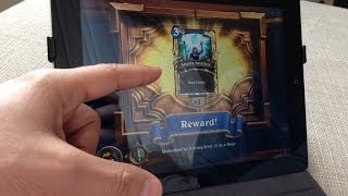 Hearthstone on iPad Gameplay ( iPad 2 16G ) #1