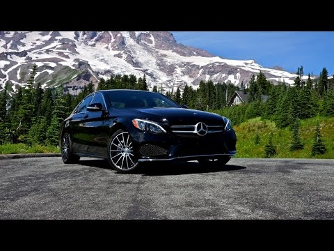 2015 Mercedes-Benz C300 4MATIC Car Review - YouTube