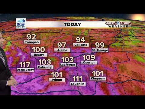 13 First Alert Las Vegas Weather for September 1 2017