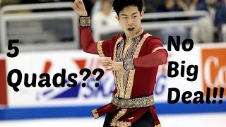 NATHAN CHEN 2017 NATIONALS COMMENTARY {5 FREAKING QUADS}