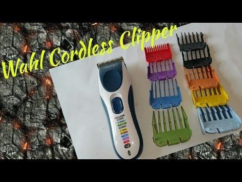 Wahl Colour Pro Cordless Clipper.