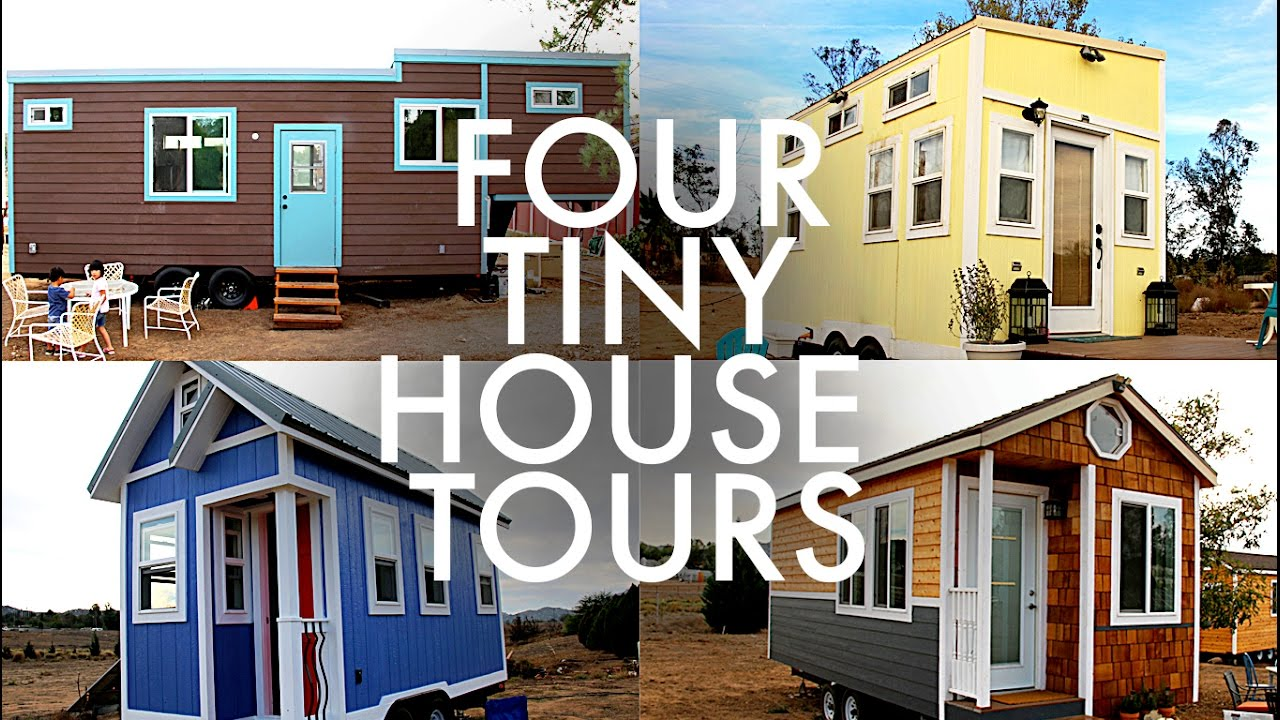 Big family 4 tiny houses rv full time w 9 kids youtube for Tiny home for family of 4