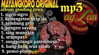mp3 jaranan mayangkoro original. Full bass