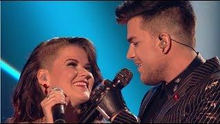 The FINAL: Saara Aalto Teams Up With Adam Lambert HUGE!!   The X Factor 2016