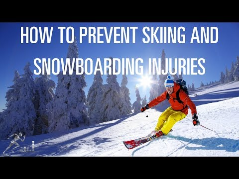 How to prevent skiing or snowboarding injuries
