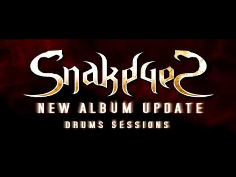 SnakeyeS - New Album Studio Report (Drums)