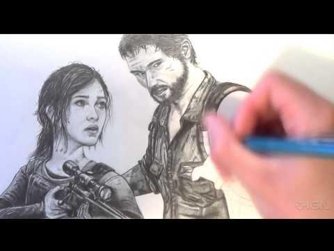 The Last of Us Drawing - Fan Art Time Lapse