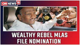 Diaqualified MLA Nagaraj's Assets Grew To 180 Crore In Just 18 Months   CNN News18