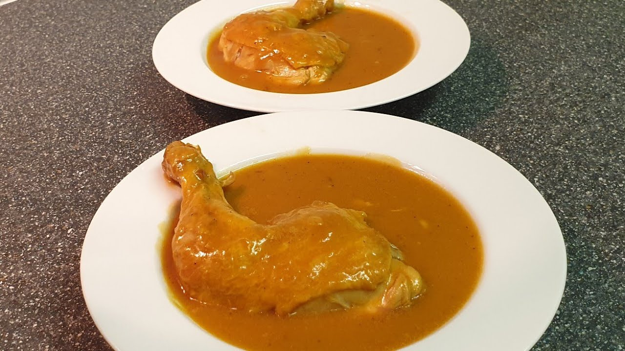 Download Recet tradicionale - Jahni me mish pule - Bestes Rezept mit Hühnerschenkel