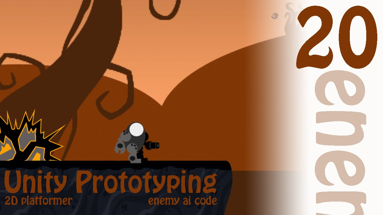 2D Prototyping in Unity - Tutorial - Platformer - Enemy AI Code