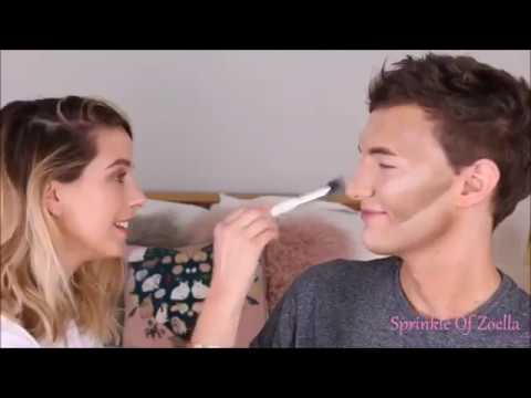 Zoe Sugg & Mark Ferris-Try Not To Laugh