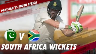 South Africa Fall Of Wickets | Pakistan vs South Africa | 1st Test Day 1 | PCB | ME2E