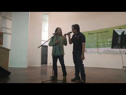 Nyanyi bersama Abg Nai penyanyi asal Kumpulan Dinamik...biar putih tulang..
