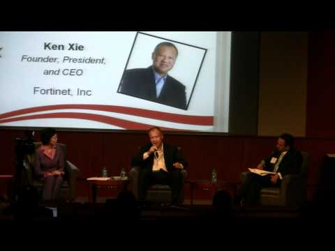 Ken Xie Journey China to Silicon Valley atlanta168摄制