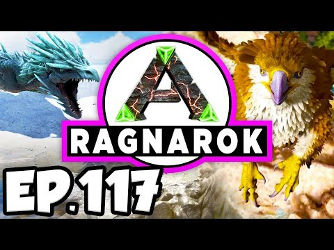 ARK: Ragnarok Ep.117 - DODOREX vs DRAGON BATTLE, PURPLE TRIBE CHIEFTAIN! (Modded Dinosaurs Gameplay)