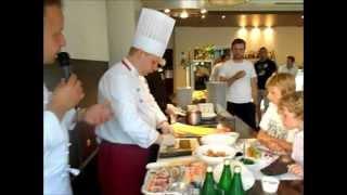 Warsztaty kuchni japońskiej w restauracji Riccardo
